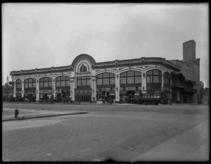 The Audubon Ballroom, circa May 1917; Courtesy of Once Upon a Town