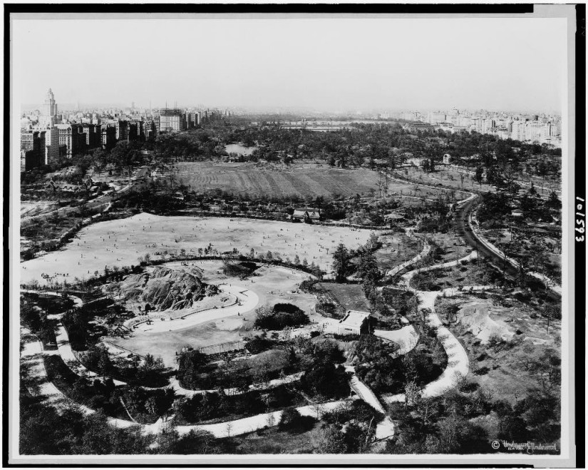 a history of central park in History of new york's central park  new york's central park is the first urban  landscaped park in the united states originally conceived in the salons of.