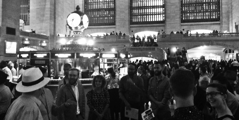 The Columns Club tours Grand Central Terminal; Courtesy of the New York Preservation Archive Project