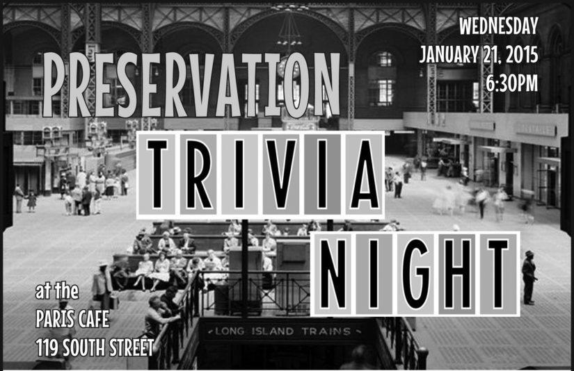 Preservation Trivia Night