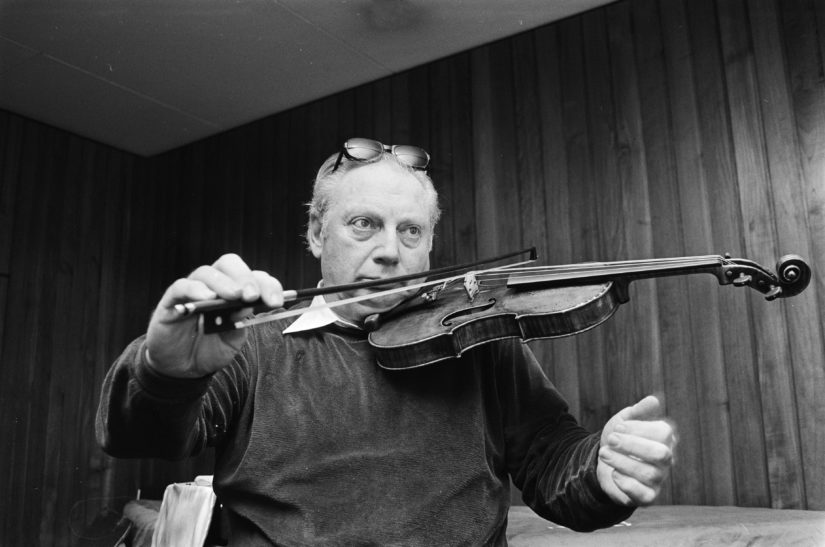 New to the Archive: Isaac Stern Tapes and Edgar Tafel Collection Archived and Available to Public