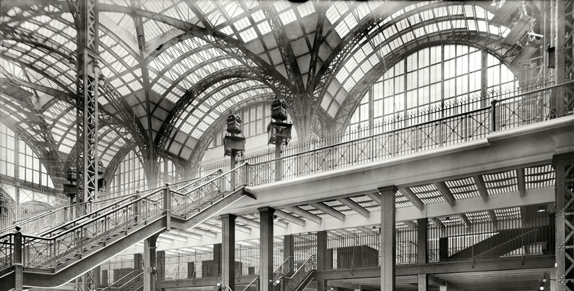 Penn Station Doc Nearing  Completion