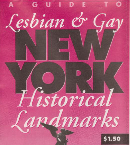 NYC LGBT Historic Sites Project: Digging Into the Story of NYC's First LGBT Preservation Efforts