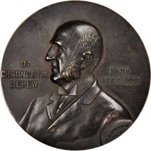 Chauncey M Depew Medal